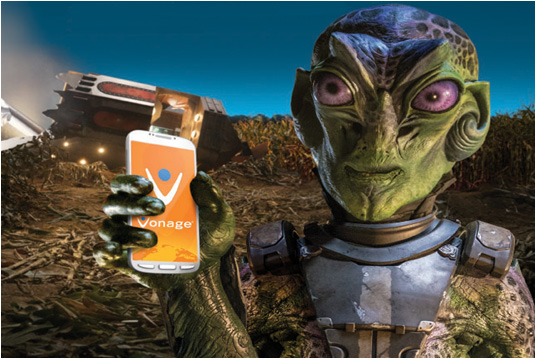 vonage alien